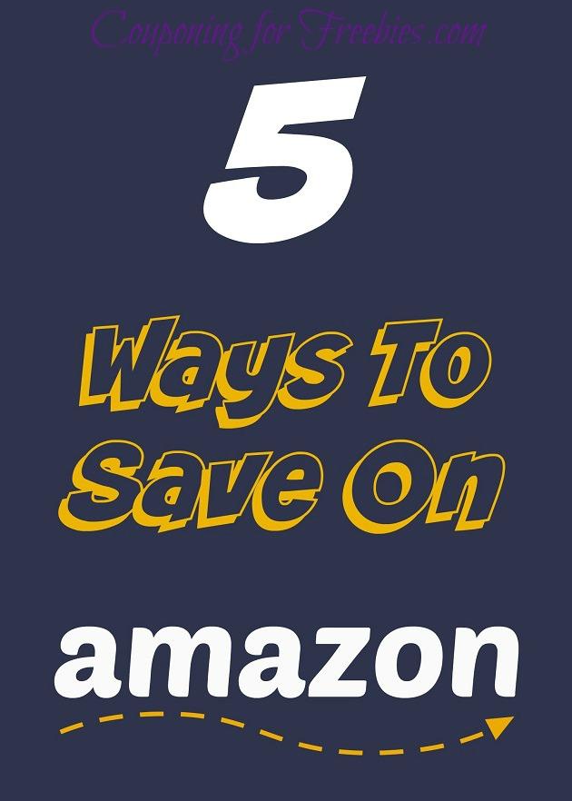5 Ways To Save On Amazon