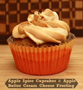 Apple Butter Spice Cupcake