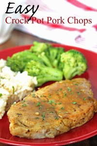 Wednesday's Weekly Savings Tips: Save Time On Dinner With Crock Pot Pork Chops!