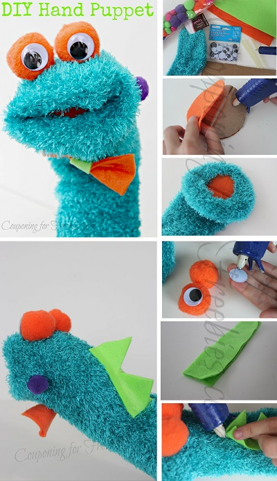 DIY Hand Puppet Steps