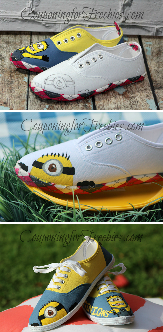 DIY Minions Shoes