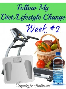 Follow My Diet / Lifestyle Change Series Week # 2