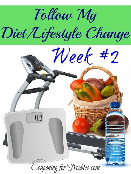 Follow My Diet  Lifestyle Change week 2