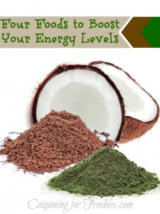 Four Foods to Boost Your Energy Levels