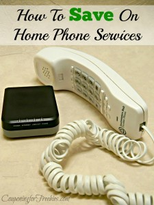 Wednesday's Weekly Savings Tips: How To Save Money On Home Phone Services