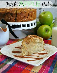 Looking for a new cake recipe to try? Check out this awesome Irish Apple Cake Recipe!