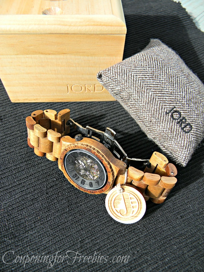 Jord Wood Watch Side
