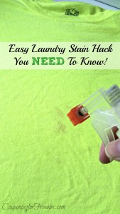 Wednesday's Weekly Savings Tips: The Laundry Stain Hack You NEED To Know!
