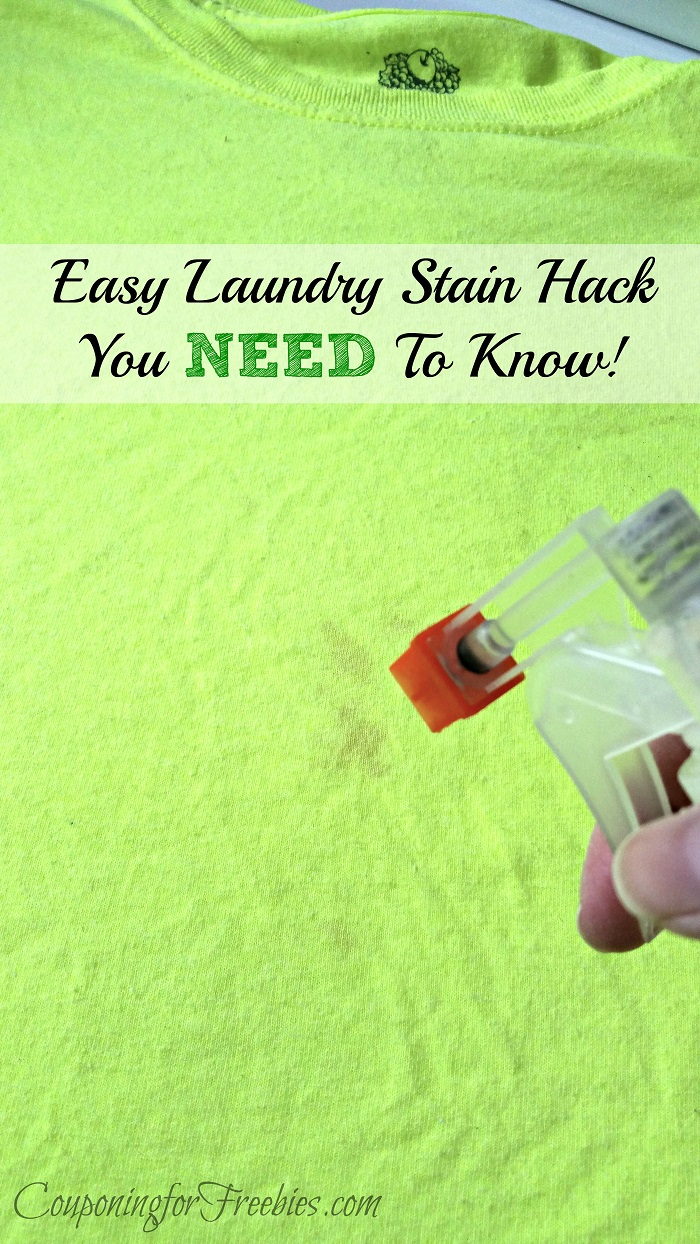 Laundry Stain Hack