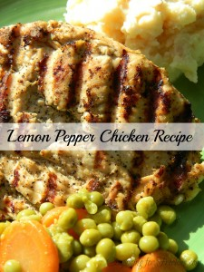 Lemon Pepper Chicken Recipe That Is Low Fat & Gluten Free