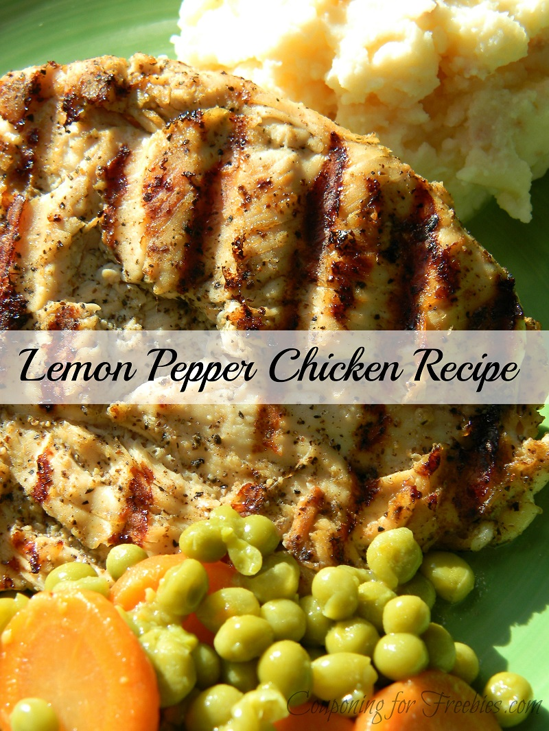 Lemon Pepper Chicken Recipe
