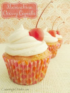 Maraschino Cherry Cupcake Recipe