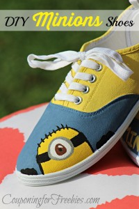 Minions Shoes DIY