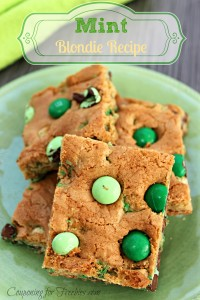Mint Blondie Recipe