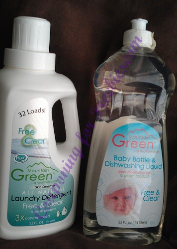 Natural Detergent Mountain Green Product Review