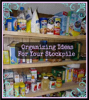 Organizing Ideas for Your Stockpile