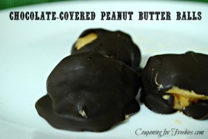 Chocolate-Covered Peanut Butter Balls