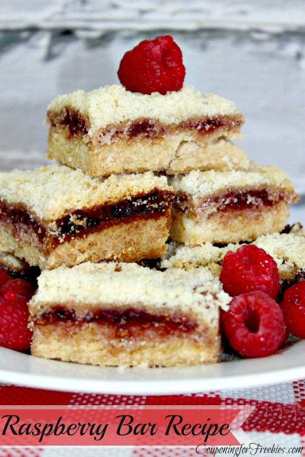 Raspberry Bars Recipe