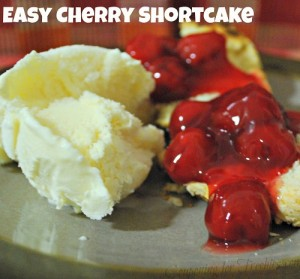 Really Easy Cherry Shortcake Recipe