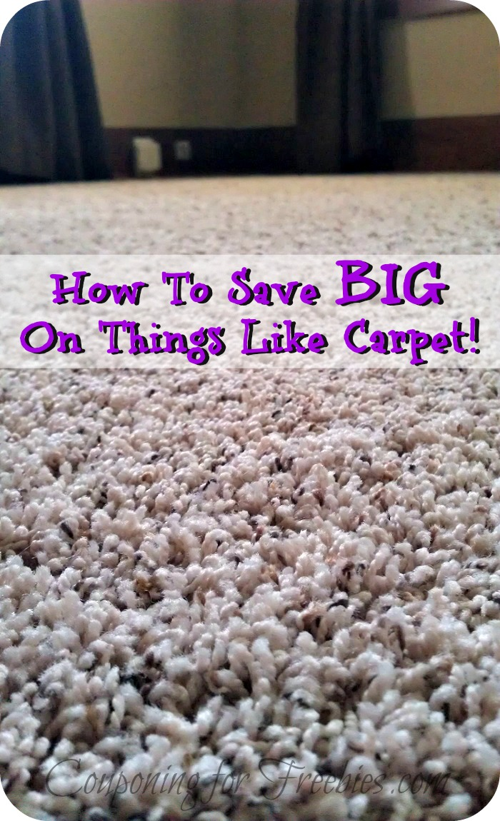 Save On Things Like Carpet By Using Coupons