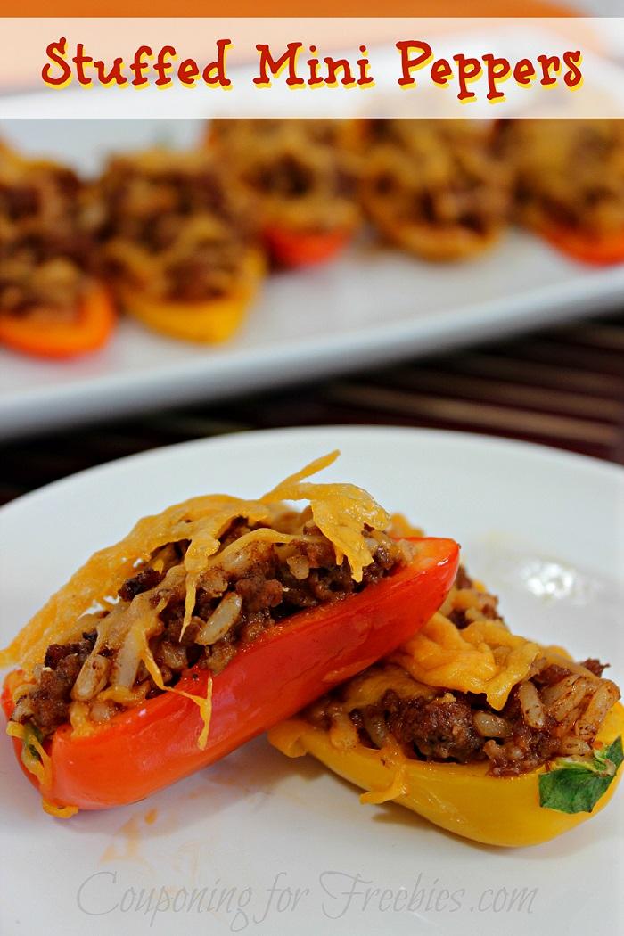 Recipe For Stuffed Pepper Minis