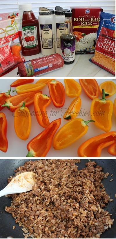 Recipe For Stuffed Pepper Minis