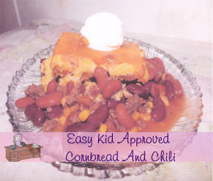 Kid Approved Cornbread And Chili Recipe, Easy!
