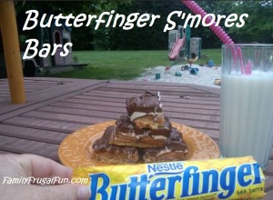 Butterfinger S'mores Bars