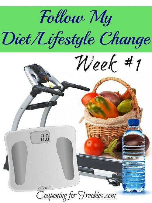 Week 1 Follow My Diet  Lifestyle Change