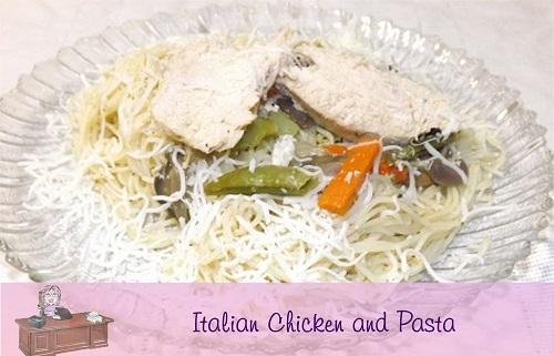 dinner idea chicken and pasta