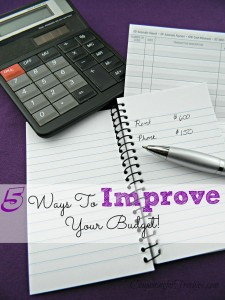 5 Ways to Improve Your Budget