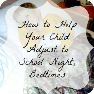 kids bedtime for school nights